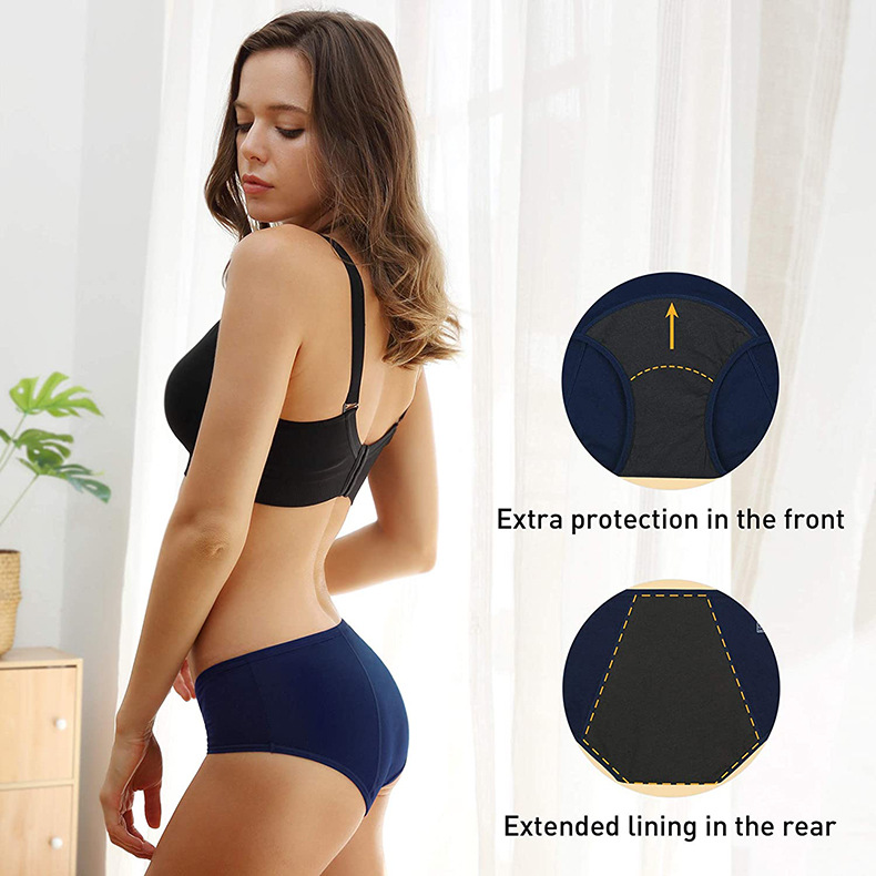 period pants with extra protection
